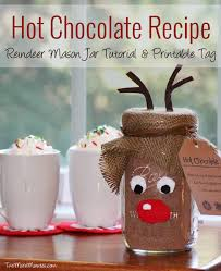 chocolate recipe and mason jar gift idea chocolate