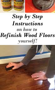 How To Finish Hardwood Floors Yourself - how to refinish hardwood floors part 1 life on shady lane