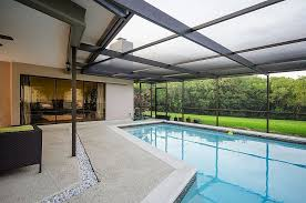 Pool Patios And Porches 45 Screened In Covered And Indoor Pool Designs