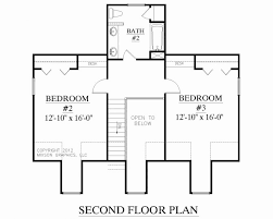 1 story floor plan 1 story house plans best of 4 bedroom home with loft small d