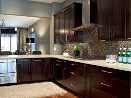 Brown Cabinets Kitchen Dark Brown Kitchen Cabinets Dark Brown Floor Best Attractive Home