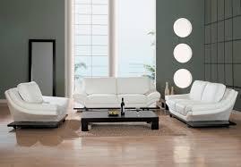 white home interior impressive white leather living room furniture in home interior
