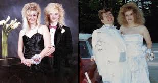 eighties prom 29 hilarious 80s prom photos the decade fashion forgot
