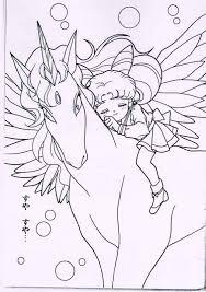 chibi moon pegasus art sailor moon pegasus colouring