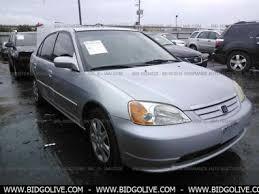 2003 honda civic ex parts used 2003 honda civic ex with front side airbags sedan 4 door car
