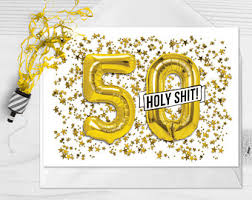 50 years old card etsy