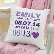 personalized pillows for baby personalized pillows and pillowcases at personal creations