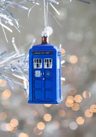 baby it s outside tardis tree ornament from mod