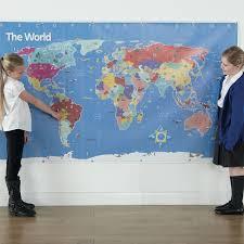 Large Wall World Map by Buy Bee Bot World Map Tts