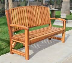 Bench Back Cushion Redwood Bench With Contoured Seating Forever Redwood