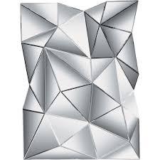 Designer Couchtisch Glas Prisma Spiegel Prisma 120x80cm Kare Design