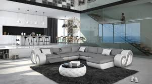 couch u form sofa in u form leder inspiration design familie traumhaus