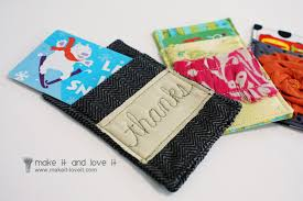 gift card wallet gift card cozy make it and it