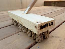 how to make a deck broom