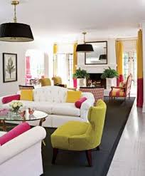 Mrs Liliens Colorful Tropical Living Room Makeover Decorating - Colorful living room chairs