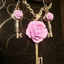 rose key necklace images Best tiny key necklace products on wanelo jpg