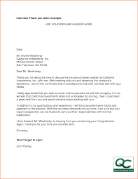 Thank You Letter After Interview Email Samples thank you letter after interview marketing manager cover letter