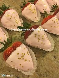 White Pink Chocolate Covered Strawberries Chocolate Covered Strawberries For A Twinkle Twinkle Little Star