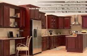 kitchen fashionable brown natural wooden storage cupboard cherry