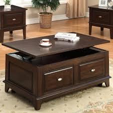 crown mark harmon lift top coffee table with casters miskelly