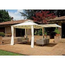 giardini con gazebo da giardino con tettoia a pergola chiudibile