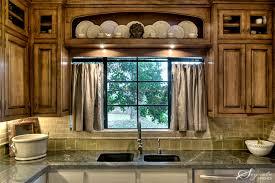 Stylish Kitchen Curtains by Kitchen Sink Window Treatments Shoise Com