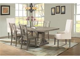 elements international finn dining table 4 side chairs u0026 2