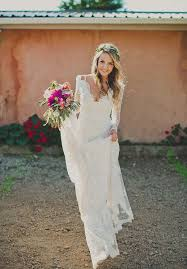 wedding dress sleeve gorgeous sleeve lace wedding dress for bohemian