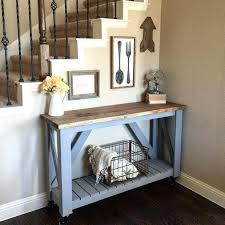 Narrow Console Table Sofa Fascinating Behind Sofa Storage Best 25 Narrow Console