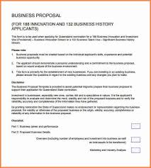6 sample of business proposal pdf project proposal
