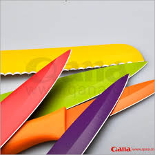 Coloured Kitchen Knives by Kitchen Knives