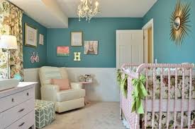 exemple chambre bébé peinture murale exemple de chambre bébé bleu canard lit bébé