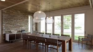 Lighting Over Dining Room Table Home Design Niche Modern Aurora Pendant Lights Above A Dining