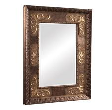 decorating antique style rectangular small wall mirrors