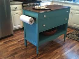 dresser kitchen island kitchen dresser dresser made into charming turquoise aqua kitchen