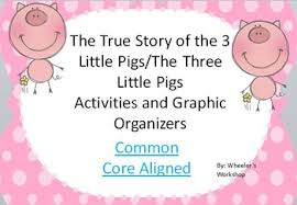 true story 3 pigs pigs activities