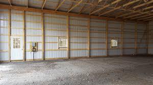pole barn home interior garage building a barn on a budget building a pole barn shed