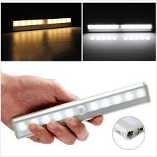 battery operated led lights for cupboards 10led automatic night light wireless motion sensor cupboard light