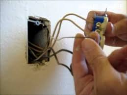 how to replace an old electrical outlet wall plug replacement