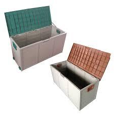 Rubbermaid Storage Bench Outdoor Plastic Storage Boxes