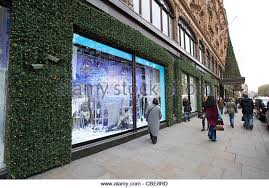 Window Display Christmas Decorations Uk by Christmas Decorations Harrods Stock Photos U0026 Christmas Decorations