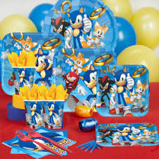 sonic the hedgehog party supplies sonic birthday party supplies party supplies canada open a party