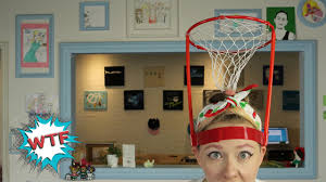basket case headband hoop game youtube