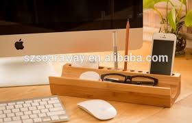 Office Desk Items High Quality Cheap Wood Office Desk Organizer With Accessories