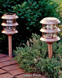 Landscaping Lights Solar Copper Solar Landscape Lights Solar Lighting The Brightest