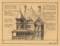 Queen Anne Style House Plans Queen Anne Style Christine G H Franck