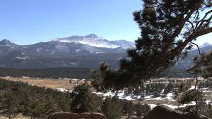 mountain rocky mountain national park winter driving road scenery