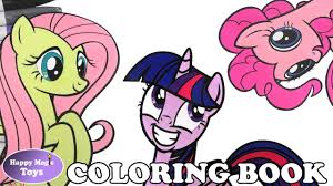 my little pony coloring pages fluttershy mlp coloring book pages compilation fluttershy pinkie twlight my