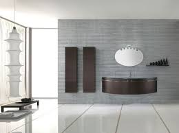 Modern Bathroom Furniture Sets Brown Bathroom Vanity With Two Storage With Brown Color And Unique