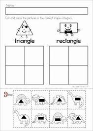 lots of color the shape worksheets 4 u0027s pinterest shapes